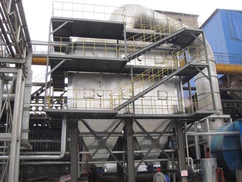 青岛200吨焦化余热锅炉项目