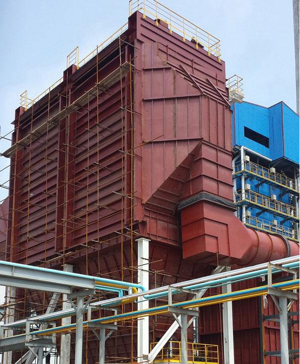 600t/d玻璃窑余热发电锅炉