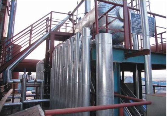 昆明钢铁烧结冷却机余热系统,炼钢余热锅炉