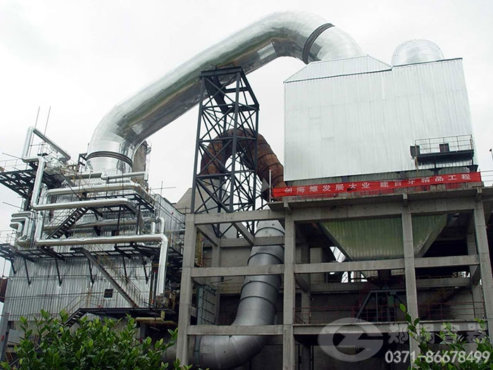沈丘80t/h硫酸余热回收锅炉