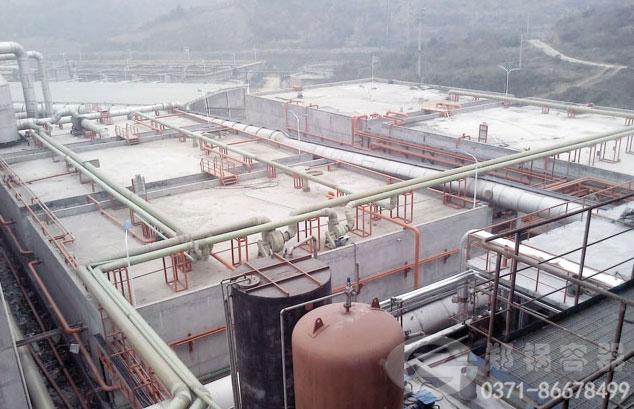 湖北三废混燃余热锅炉项目