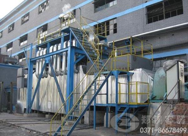 内蒙古赤峰130吨余热热水锅炉