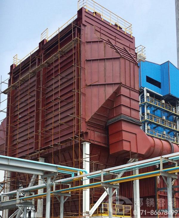 印度110吨玻璃窑余热锅炉