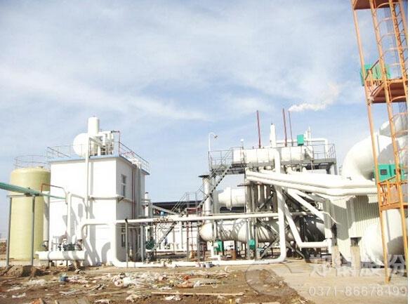 河北邯郸60吨卧式余热锅炉