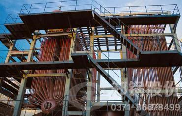 新密昌源75吨生物质发电锅炉项目