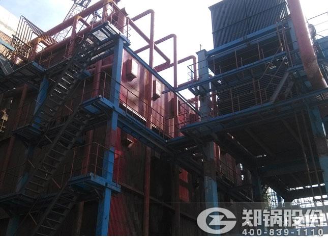 西安热力116MW角管式热水锅炉