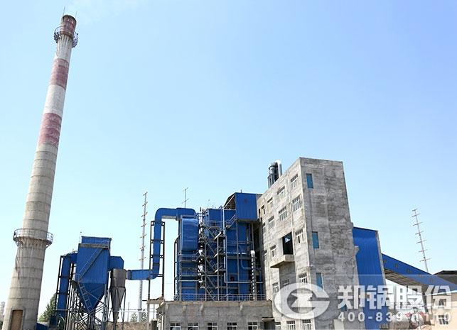 驻马店45吨生物质发电锅炉项目