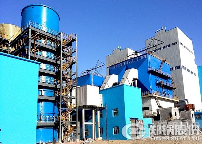 内蒙古280吨循环流化床锅炉项目