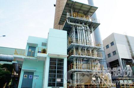 安阳焦化集团焦炉煤气回收发电锅炉