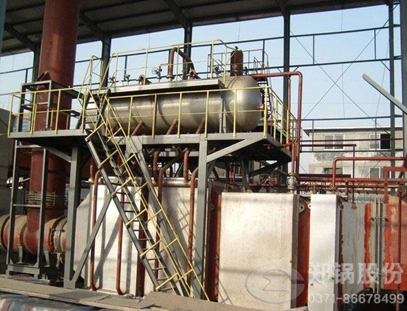 高温固体颗粒余热锅炉