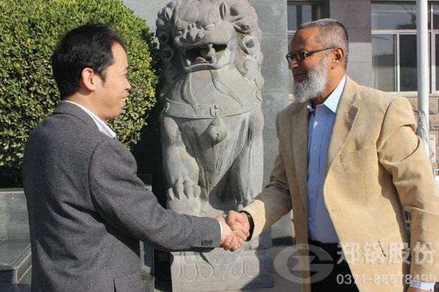 祝贺郑锅与巴基斯坦公司共同开发巴余热发电市场